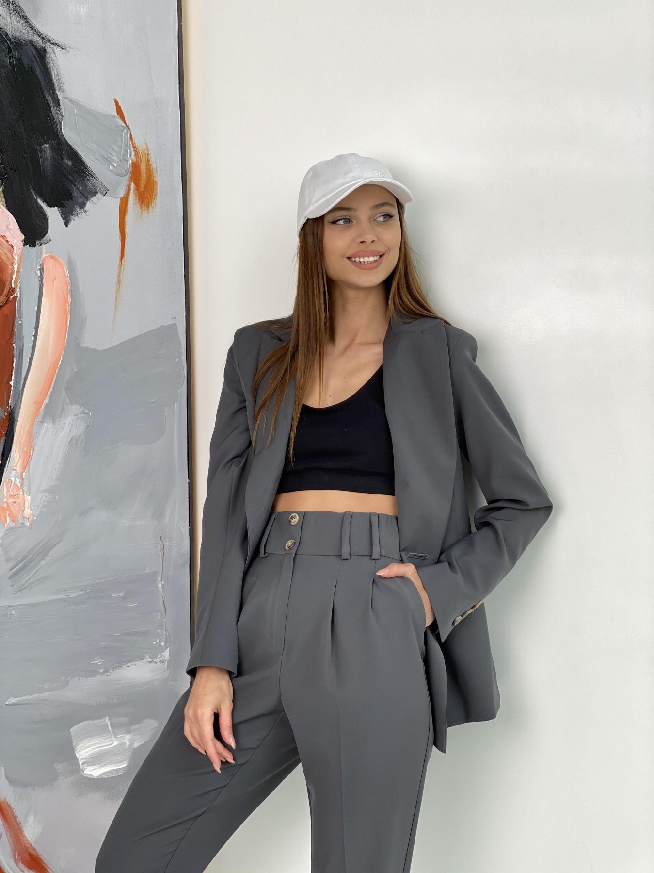 Франко костюм из костюмной ткани 11090 АРТ. 47975 Цвет: Графит - фото 8, интернет магазин tm-modus.ru