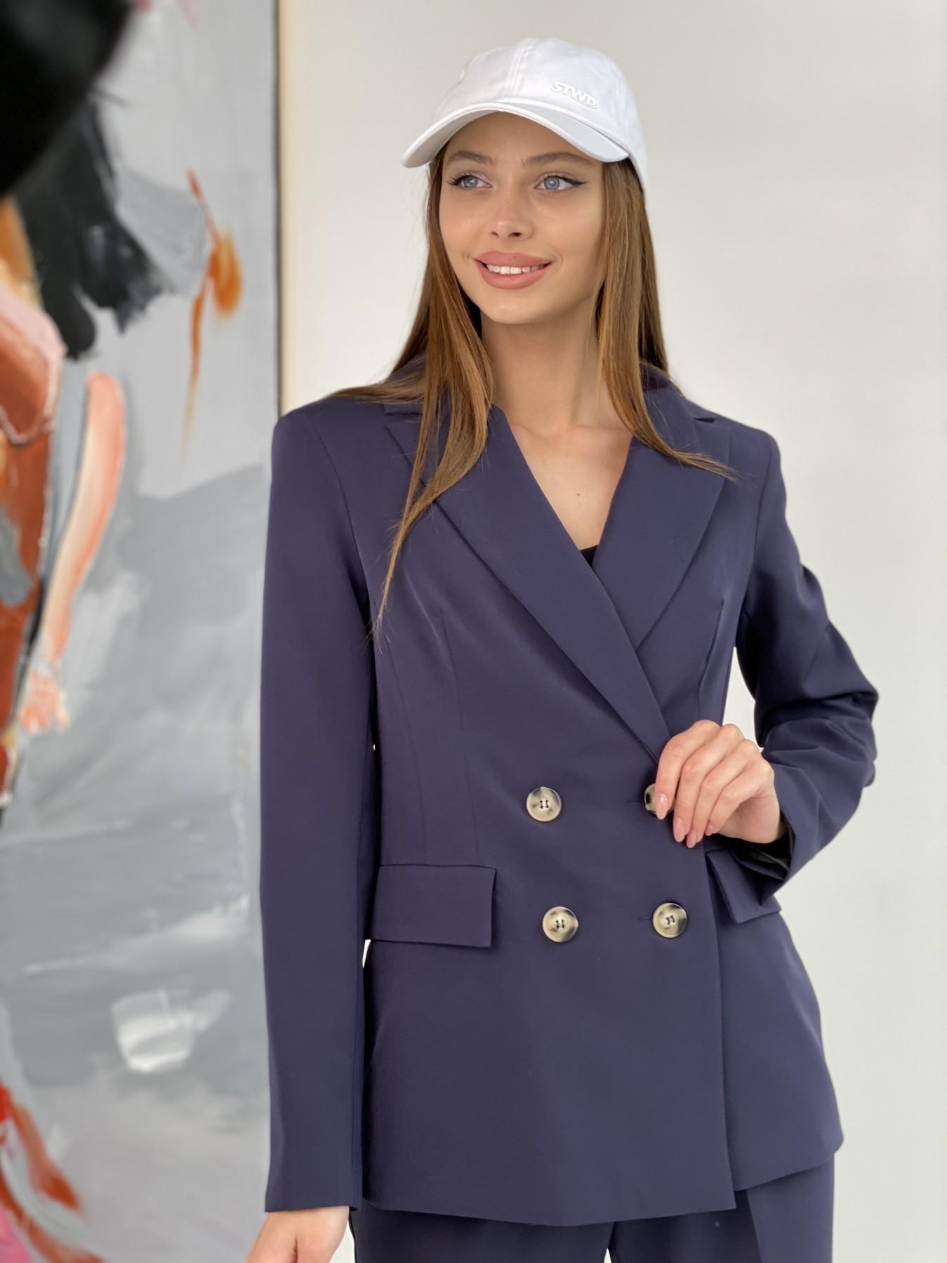Франко костюм из костюмной ткани 11090 АРТ. 47973 Цвет: Т.синий 1 - фото 1, интернет магазин tm-modus.ru