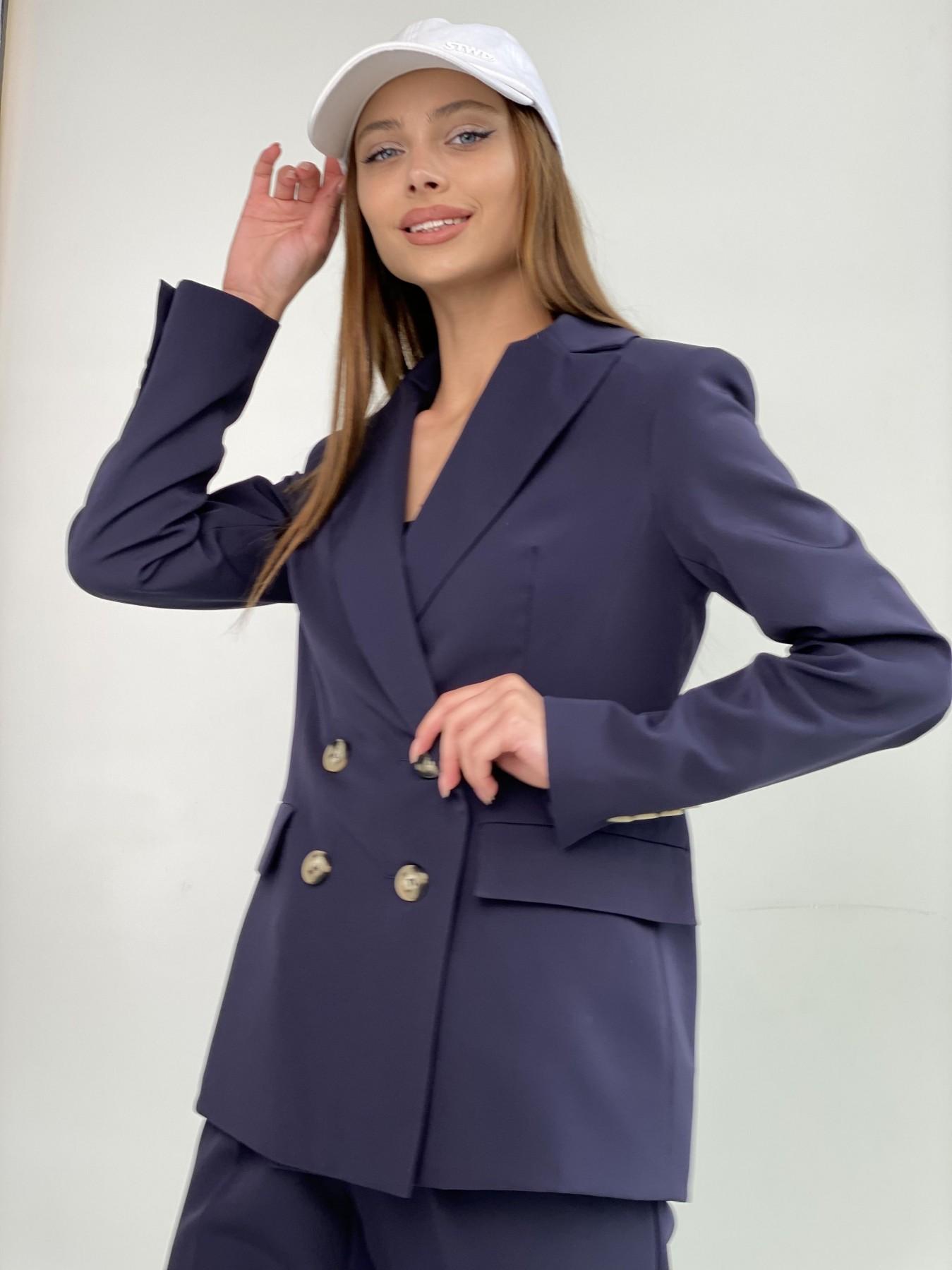 Франко костюм из костюмной ткани 11090 АРТ. 47973 Цвет: Т.синий 1 - фото 5, интернет магазин tm-modus.ru