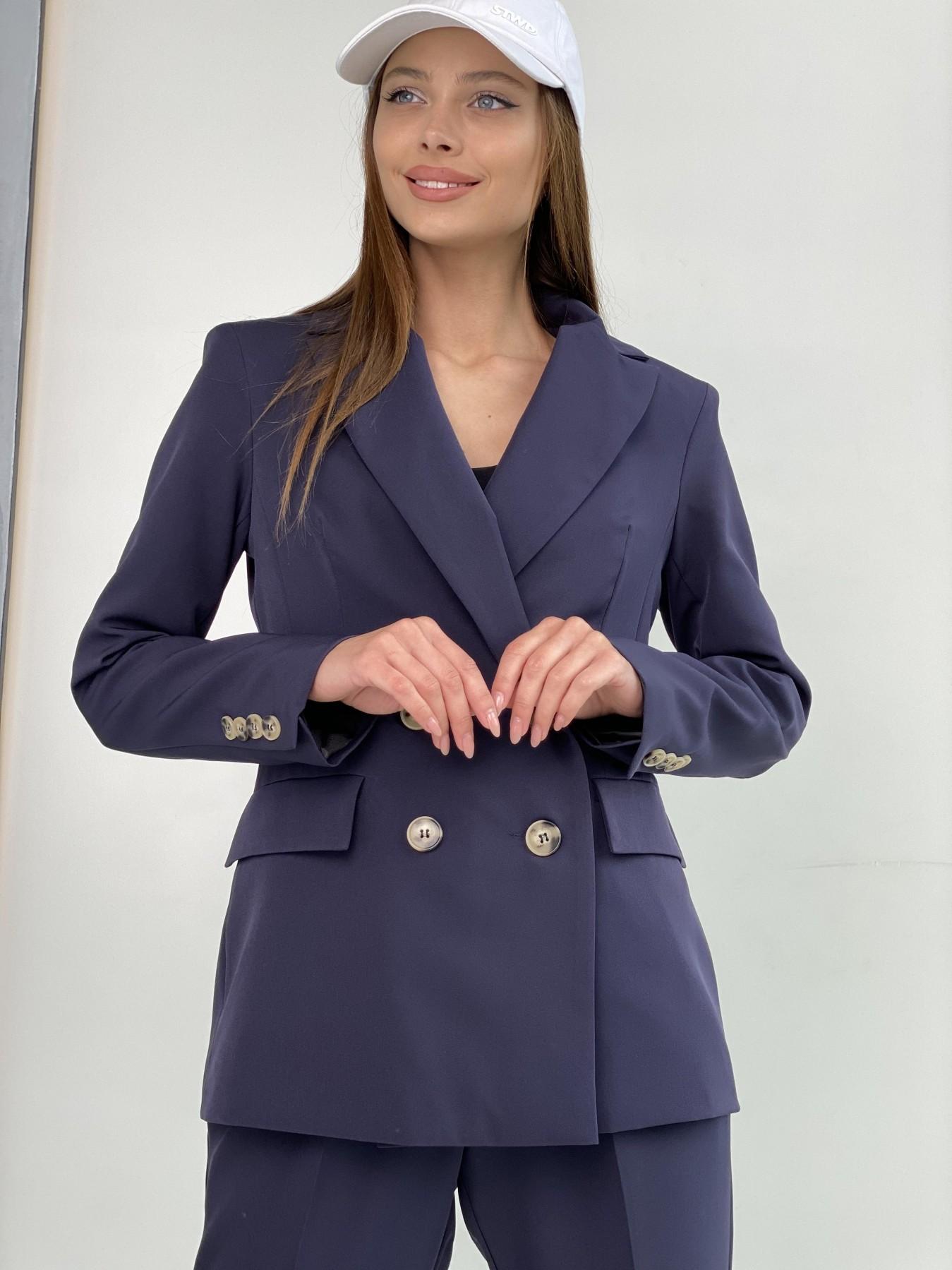 Франко костюм из костюмной ткани 11090 АРТ. 47973 Цвет: Т.синий 1 - фото 6, интернет магазин tm-modus.ru