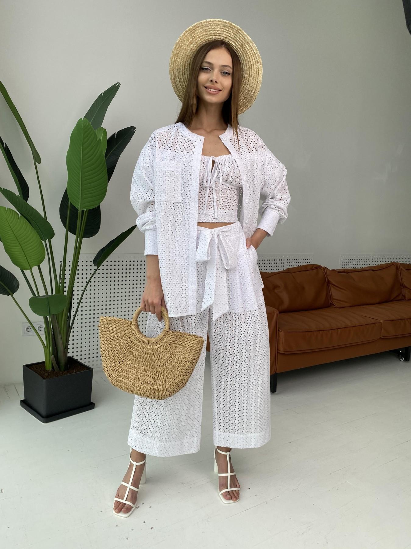 Женская одежда оптом Украина Modus Лагуна  прогулочный костюм из прошвы 11294