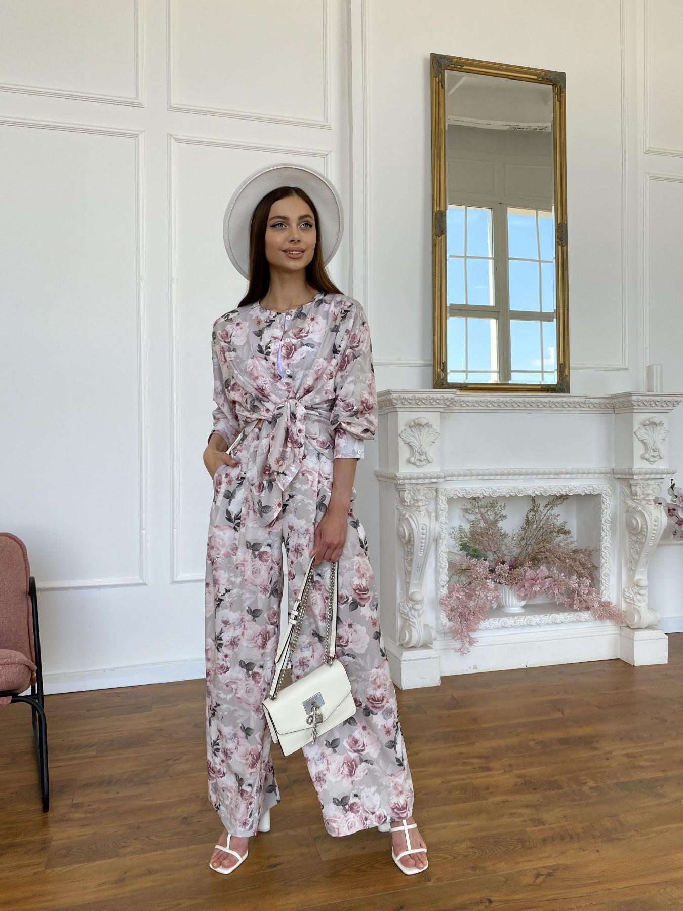 Женские костюмы оптом от производителя Modus Колибри костюм софт с принтом 11244