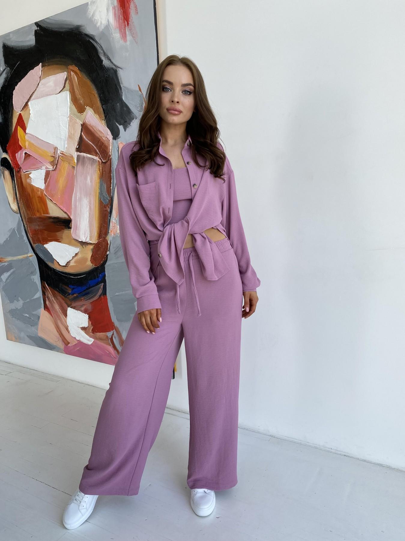 Квадро костюм американский из ткани креп (4 ед) 11303 АРТ. 48096 Цвет: Фрез - фото 12, интернет магазин tm-modus.ru