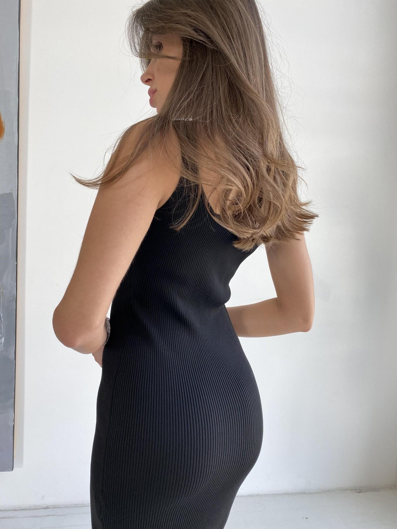 Платье 91798 АРТ. 48056 Цвет: Черный - фото 4, интернет магазин tm-modus.ru