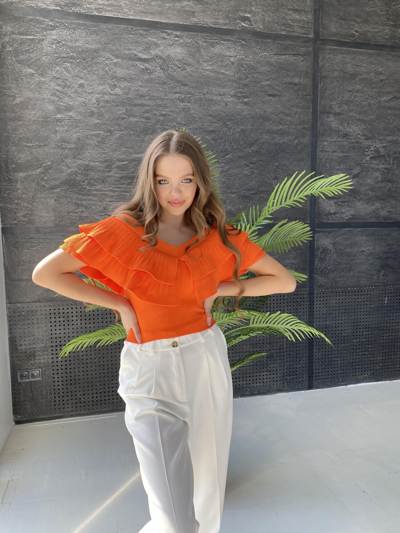 Топ 2586 АРТ. 48088 Цвет: Оранжевый - фото 4, интернет магазин tm-modus.ru