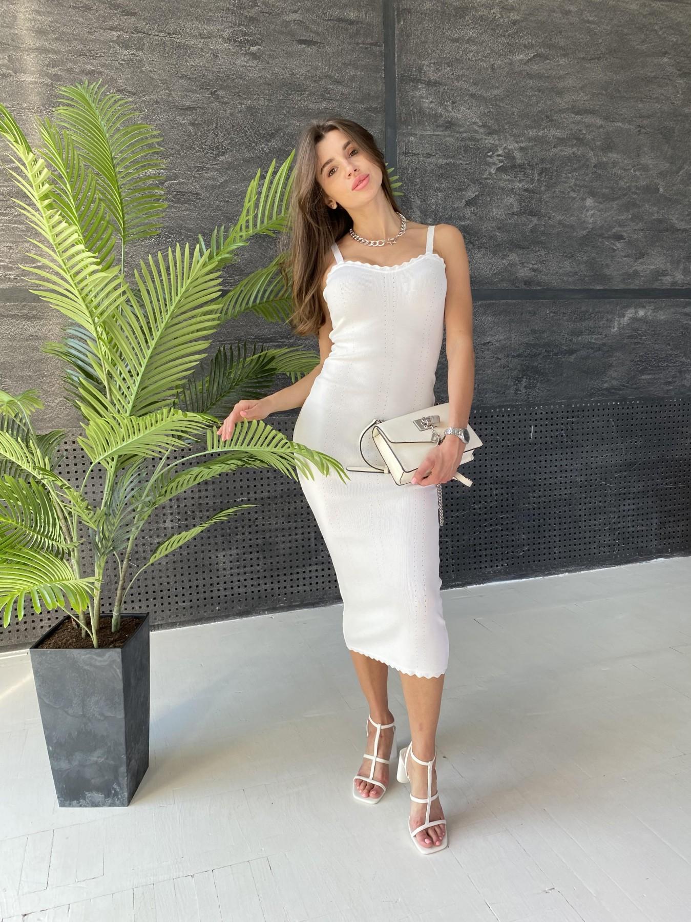 Платье 91761 АРТ. 48073 Цвет: Молоко - фото 4, интернет магазин tm-modus.ru