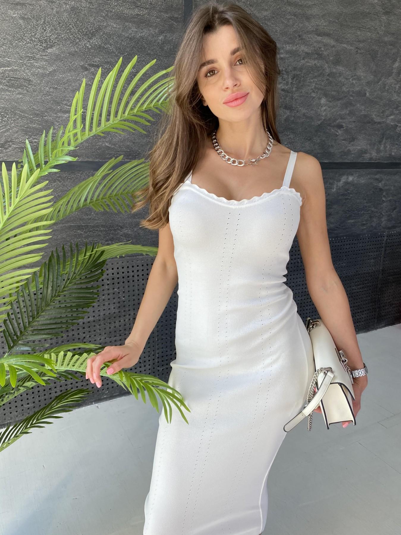 Платье 91761 АРТ. 48073 Цвет: Молоко - фото 5, интернет магазин tm-modus.ru