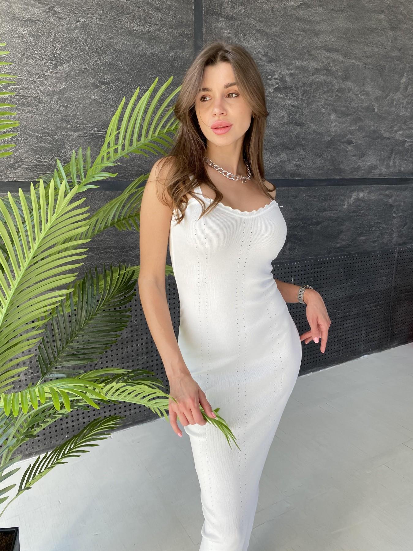 Платье 91761 АРТ. 48073 Цвет: Молоко - фото 10, интернет магазин tm-modus.ru