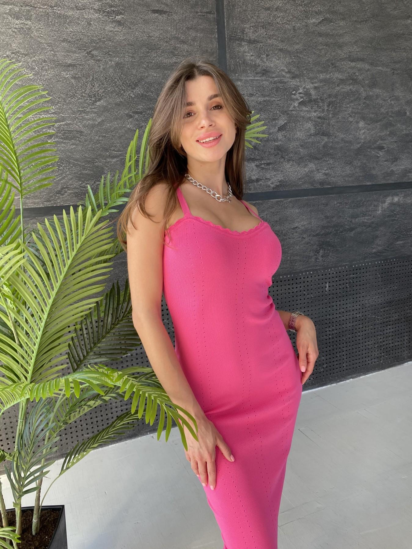Платье 91761 АРТ. 48072 Цвет: Малиновый - фото 2, интернет магазин tm-modus.ru