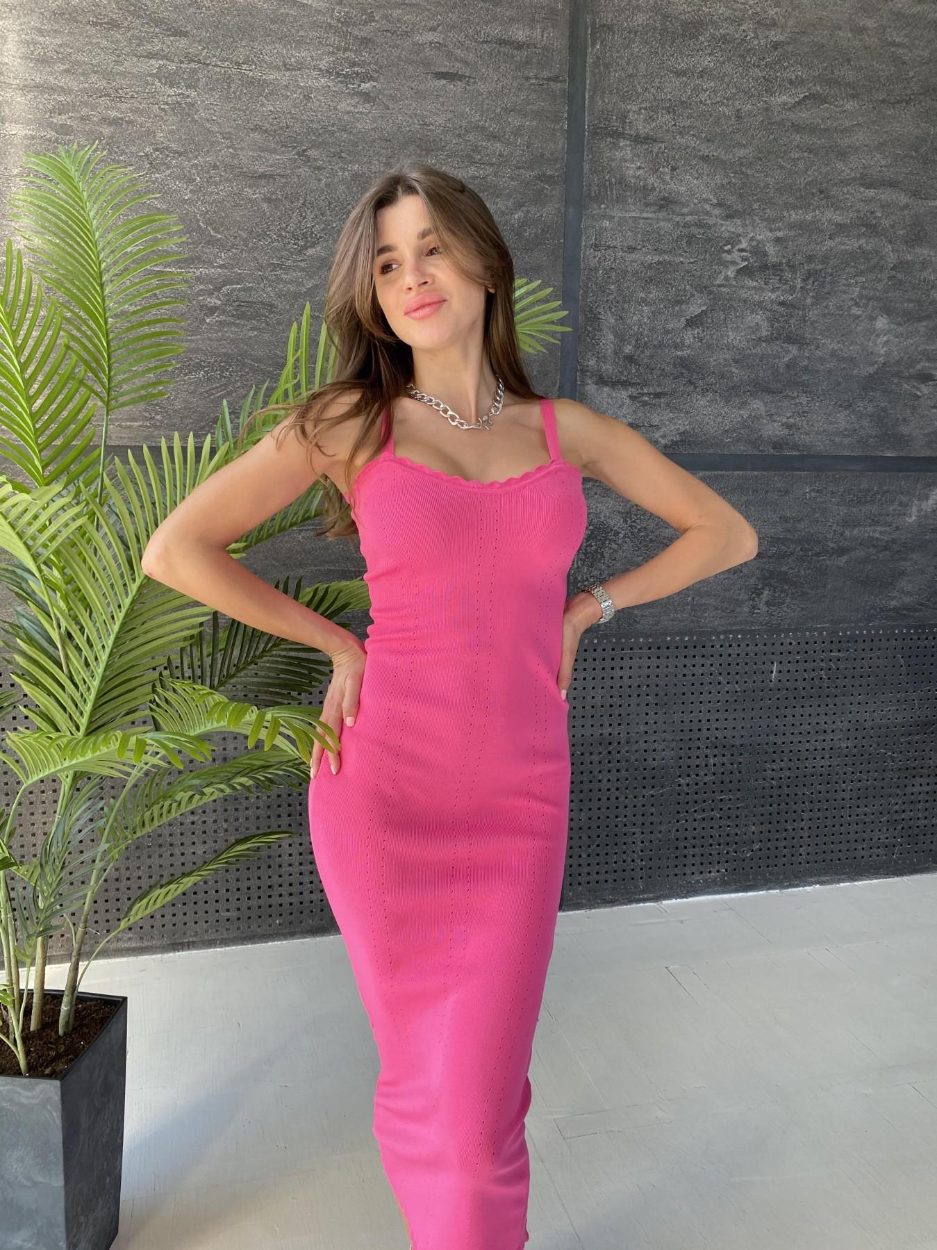 Платье 91761 АРТ. 48072 Цвет: Малиновый - фото 3, интернет магазин tm-modus.ru
