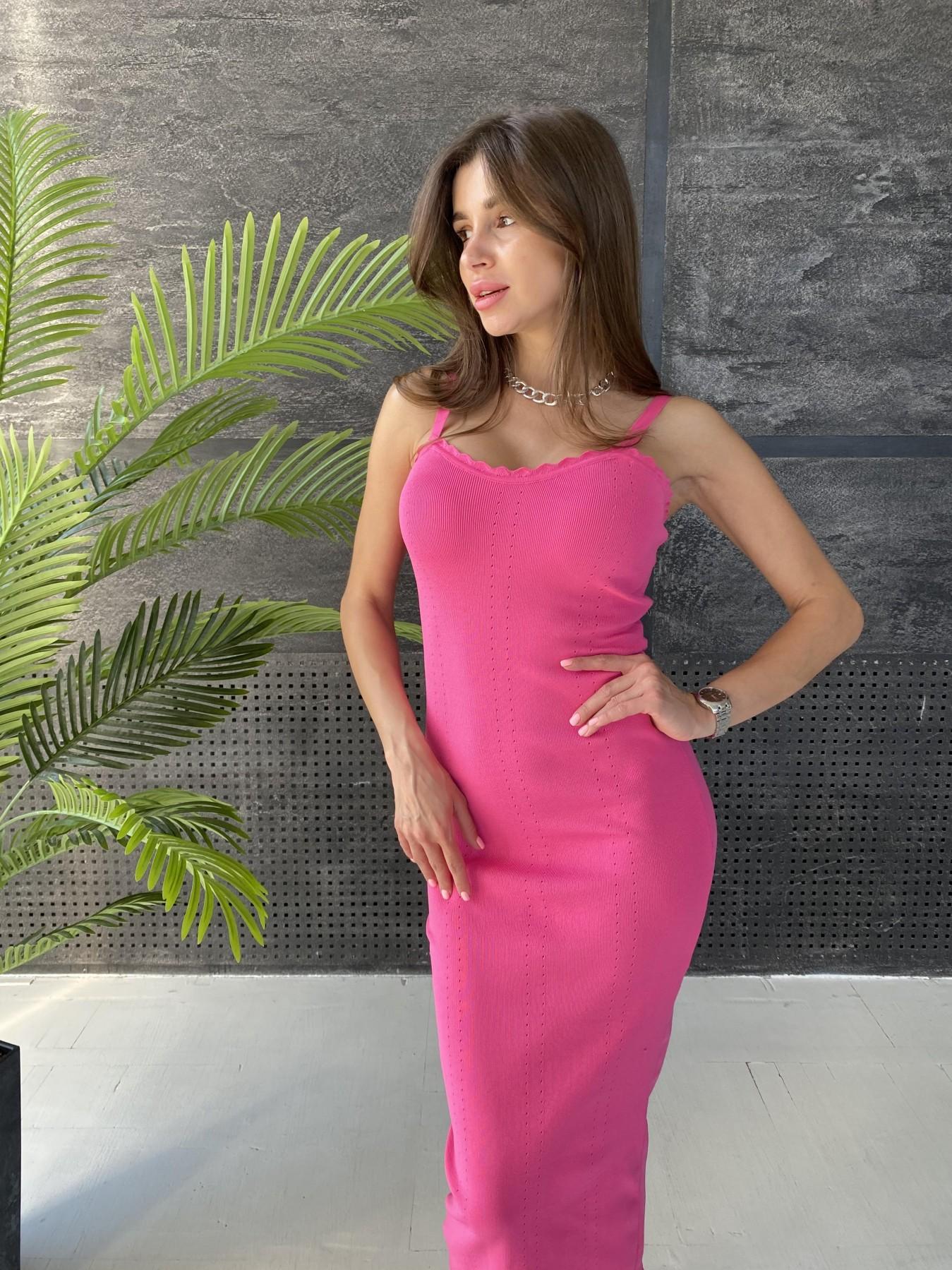 Платье 91761 АРТ. 48072 Цвет: Малиновый - фото 8, интернет магазин tm-modus.ru