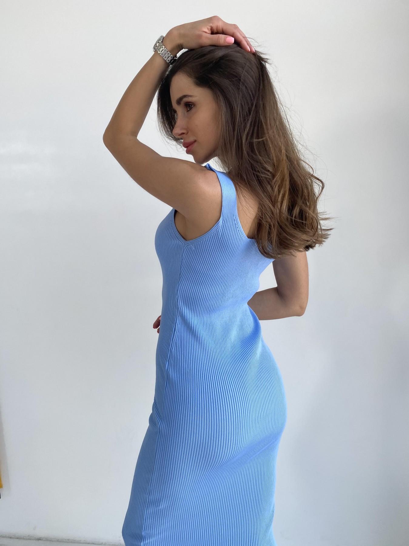 Платье 91798 АРТ. 48058 Цвет: Голубой - фото 5, интернет магазин tm-modus.ru
