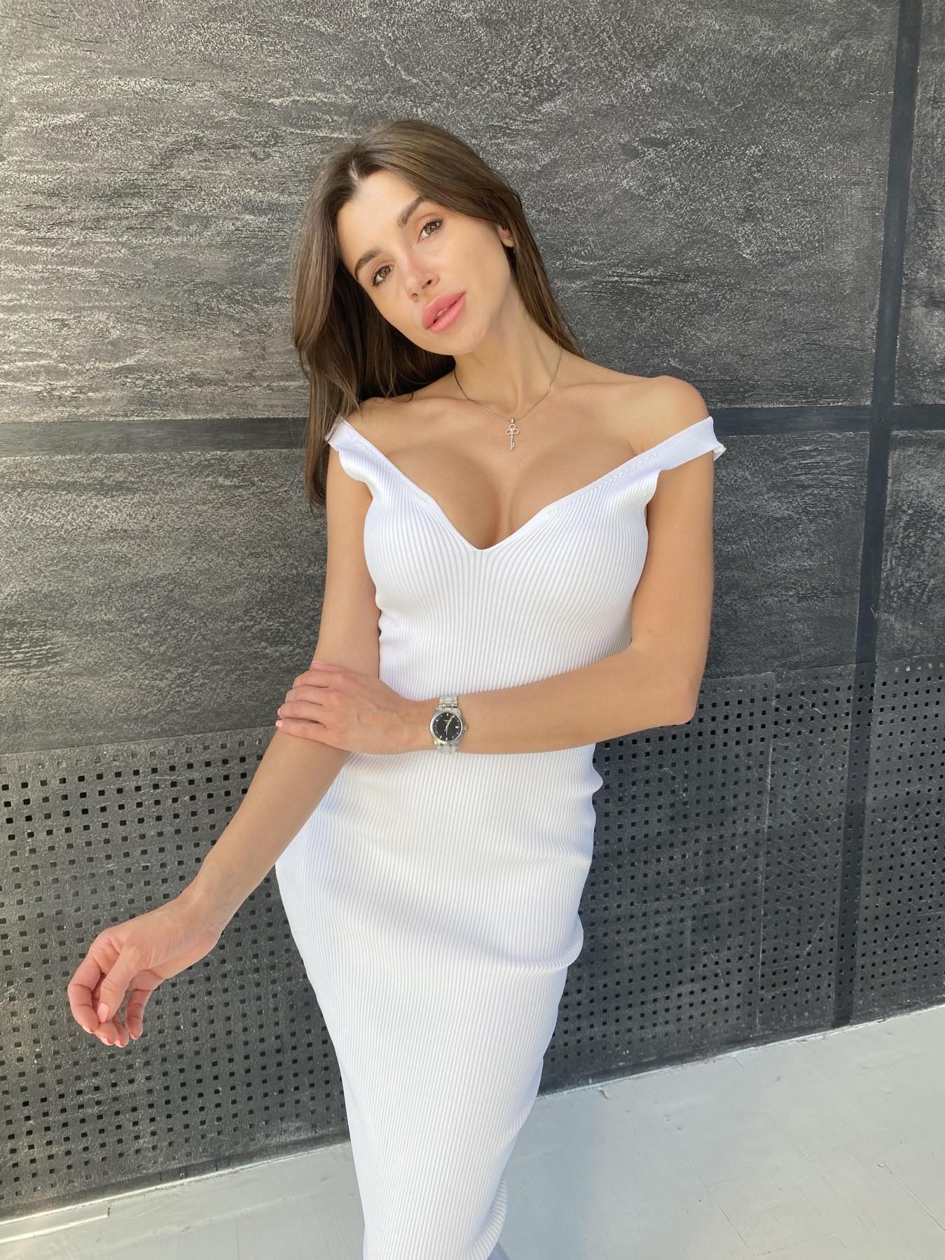 Платье 91798 АРТ. 48061 Цвет: Молоко - фото 2, интернет магазин tm-modus.ru