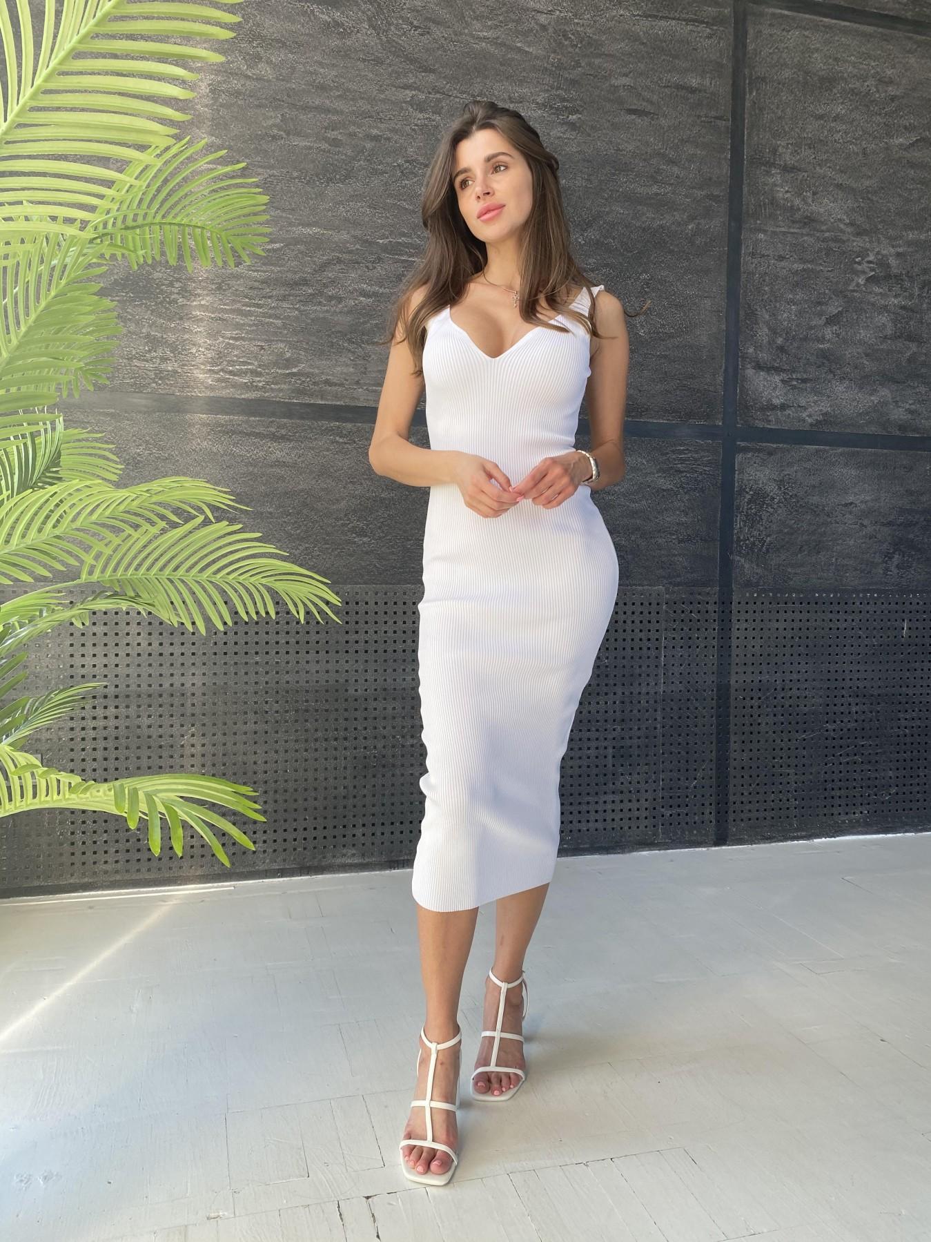 Платье 91798 АРТ. 48061 Цвет: Молоко - фото 7, интернет магазин tm-modus.ru