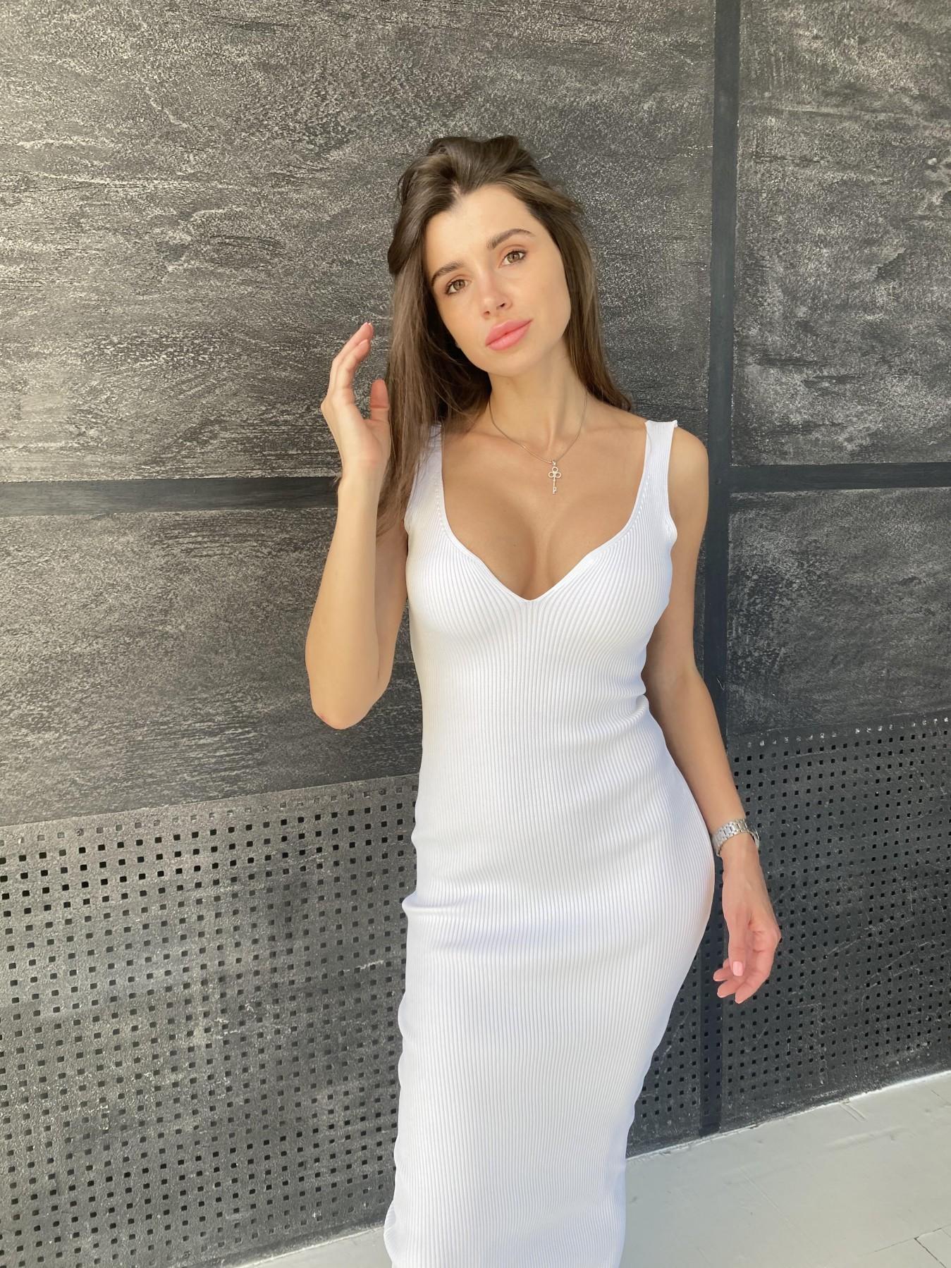 Платье 91798 АРТ. 48061 Цвет: Молоко - фото 9, интернет магазин tm-modus.ru