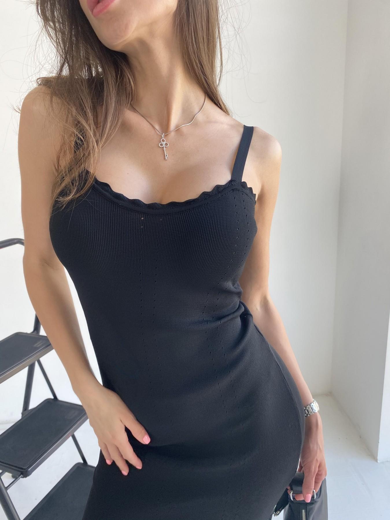 Платье 91761 АРТ. 48074 Цвет: Черный - фото 8, интернет магазин tm-modus.ru