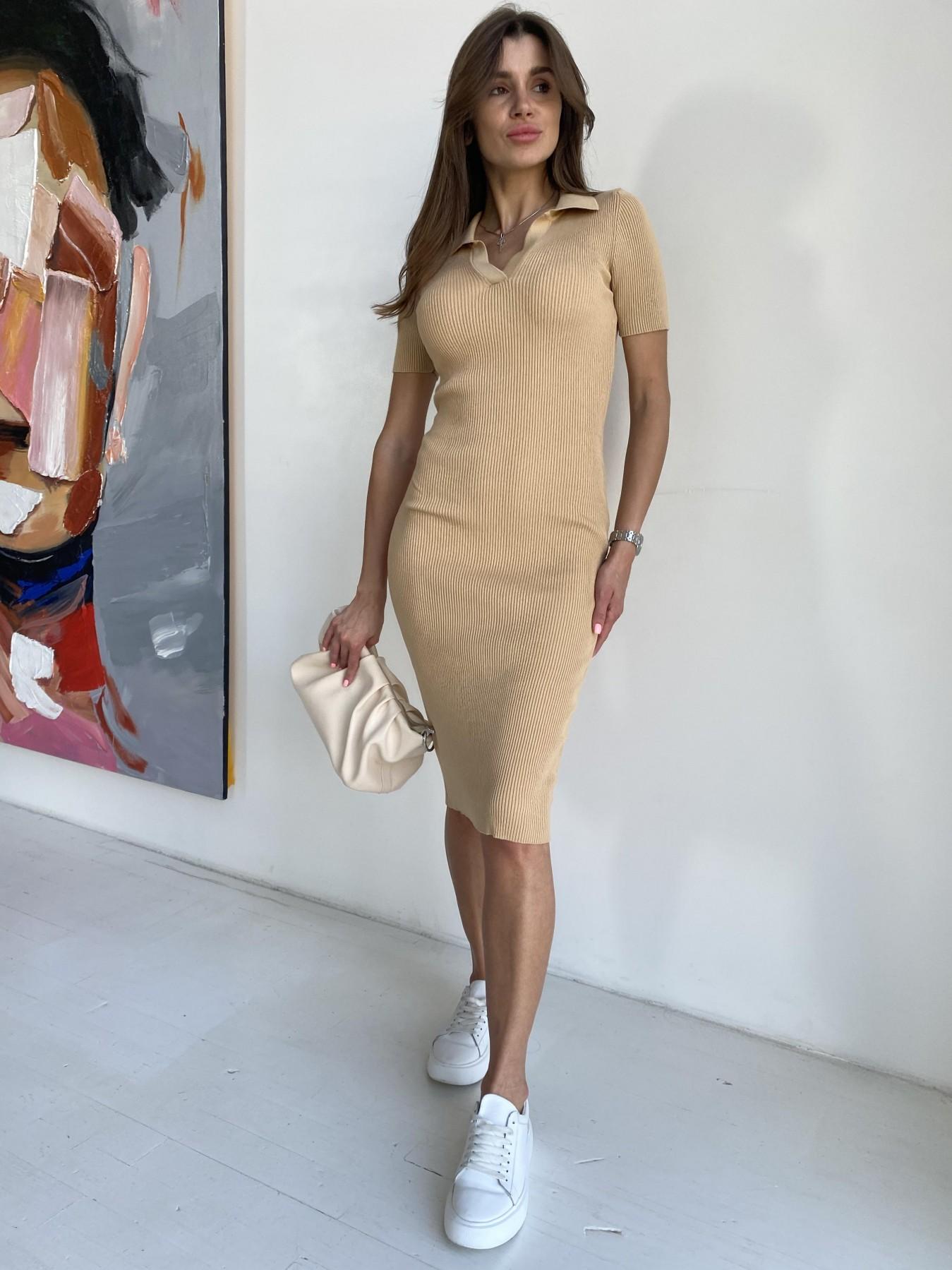 Платья оптом Украина недорого от Модус Платье воротник 91688