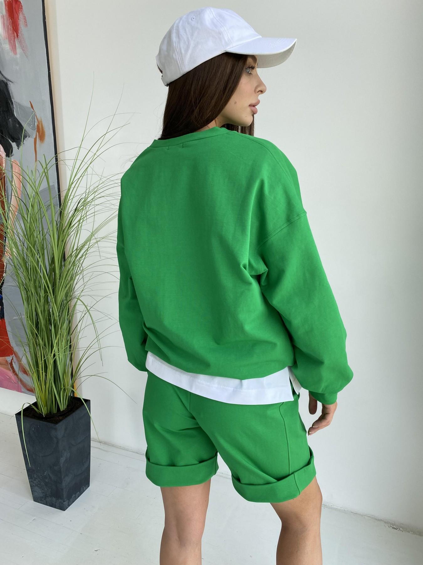 Фарт 4 костюм трикотажный 2х нитка из вискозы 11363 АРТ. 48020 Цвет: ЗеленыйТравка/Белый - фото 11, интернет магазин tm-modus.ru