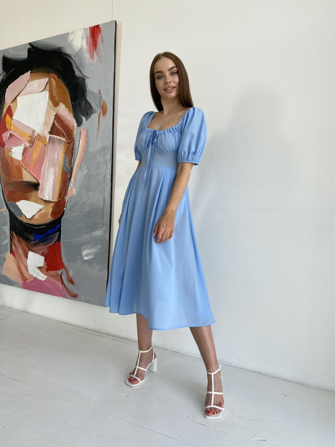Купить платья в интернет магазине Кисес Миди платье из шифона креп 11443