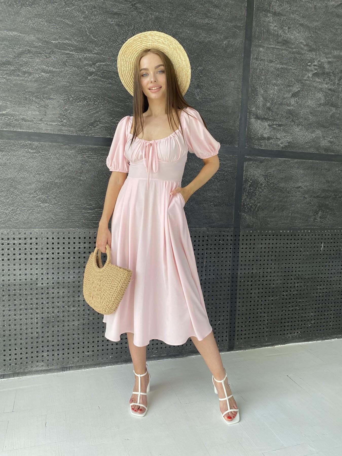 Купить платье оптом Украина Modus Кисес Миди платье  софт 11540