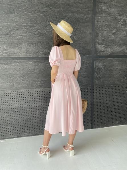 """Купити """"Кисес Миди"""" платье  софт 11540 оптом і в роздріб"""