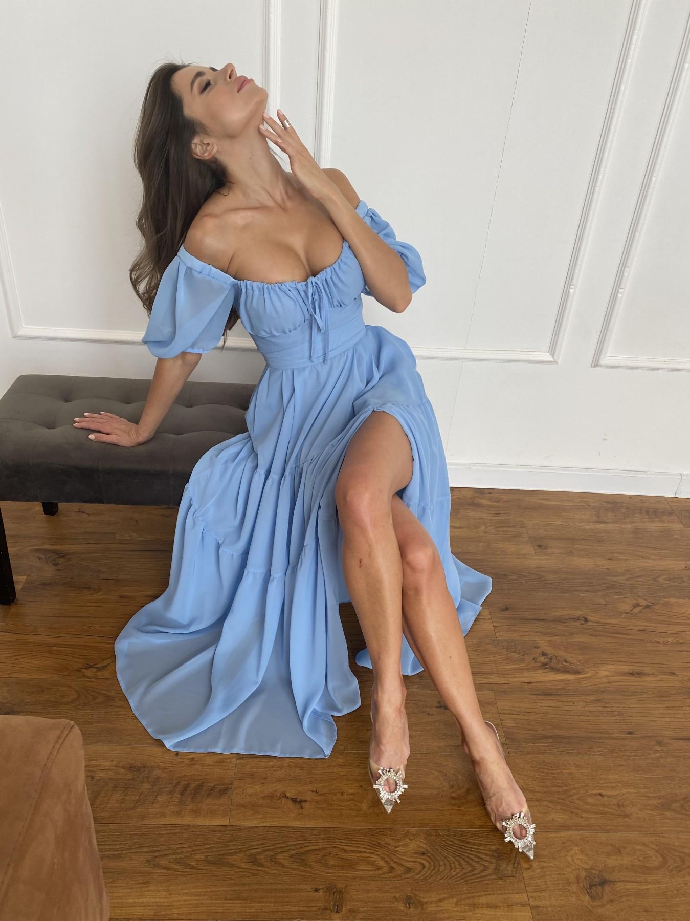 Трикотажные платья оптом Сейшелы платье креп шифон 11519