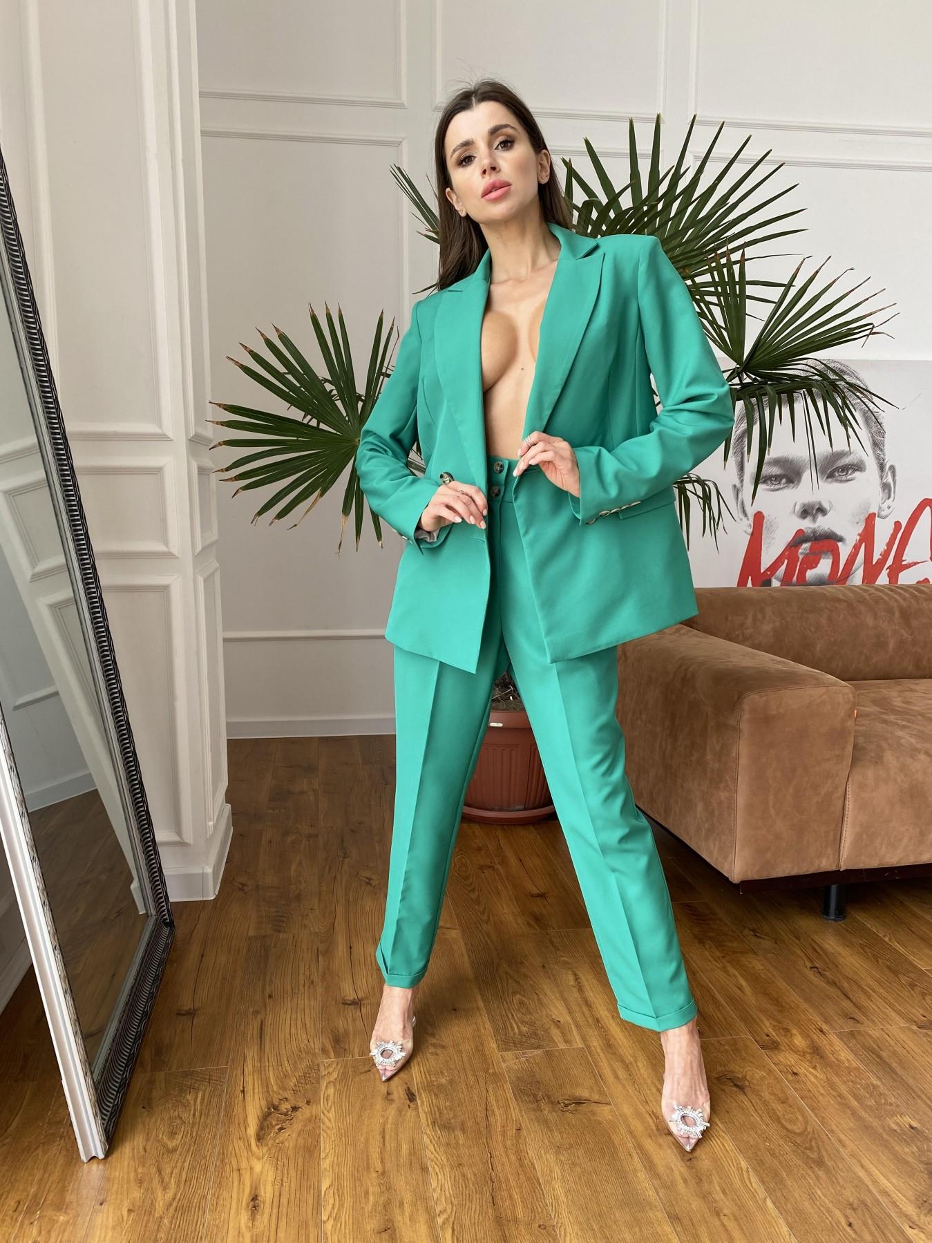 Франко костюм из костюмной ткани 11090 АРТ. 48111 Цвет: Зеленый 2 - фото 1, интернет магазин tm-modus.ru
