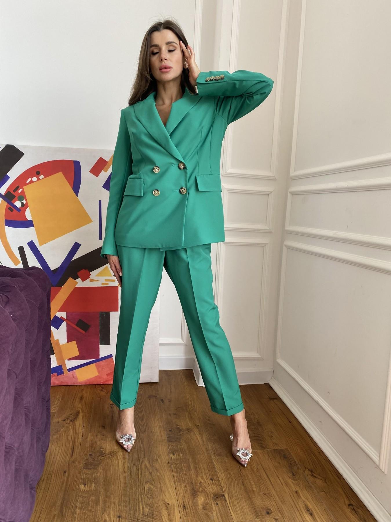 Франко костюм из костюмной ткани 11090 АРТ. 48111 Цвет: Зеленый 2 - фото 5, интернет магазин tm-modus.ru
