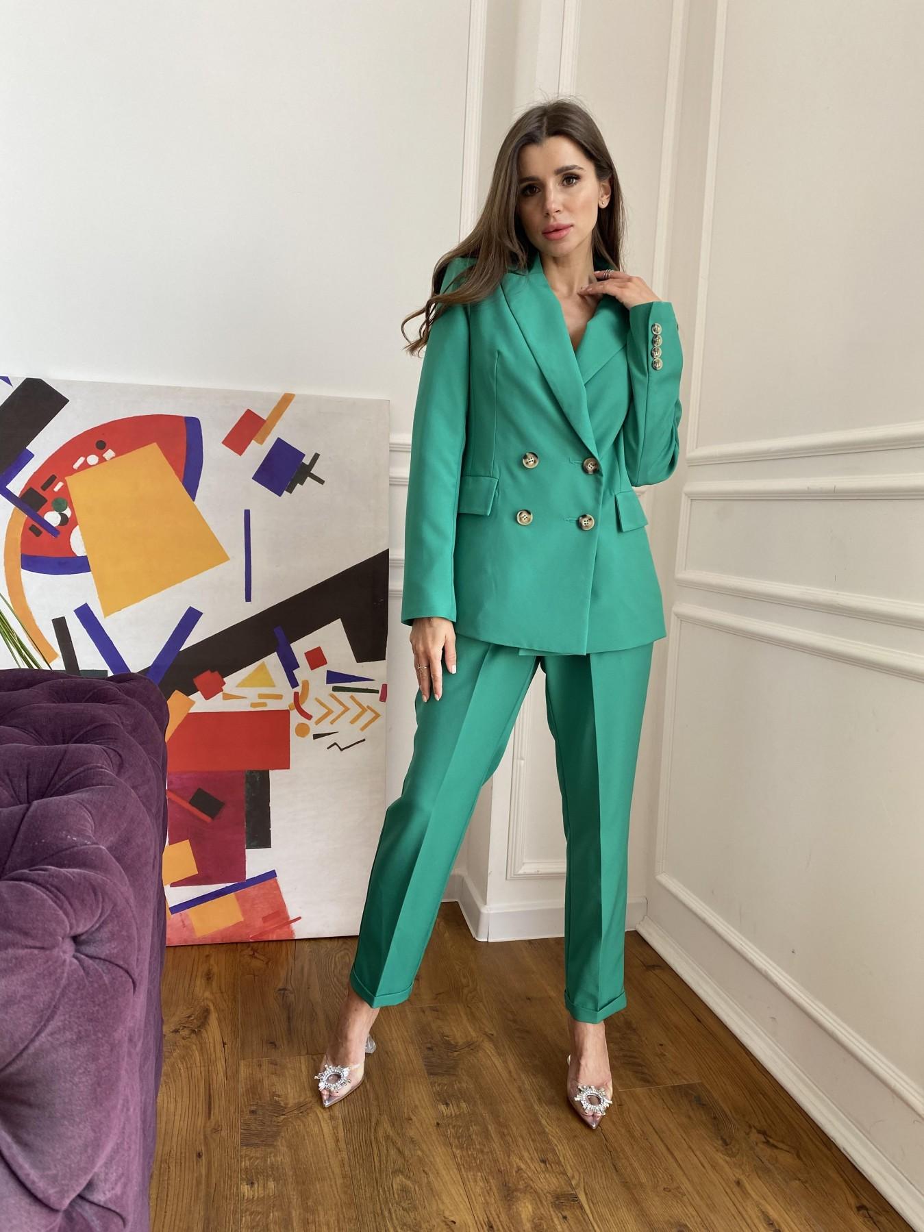 Франко костюм из костюмной ткани 11090 АРТ. 48111 Цвет: Зеленый 2 - фото 6, интернет магазин tm-modus.ru