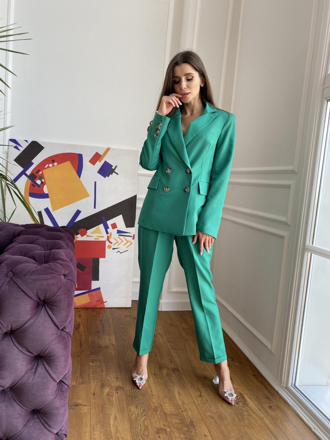Франко костюм из костюмной ткани 11090 АРТ. 48111 Цвет: Зеленый 2 - фото 8, интернет магазин tm-modus.ru