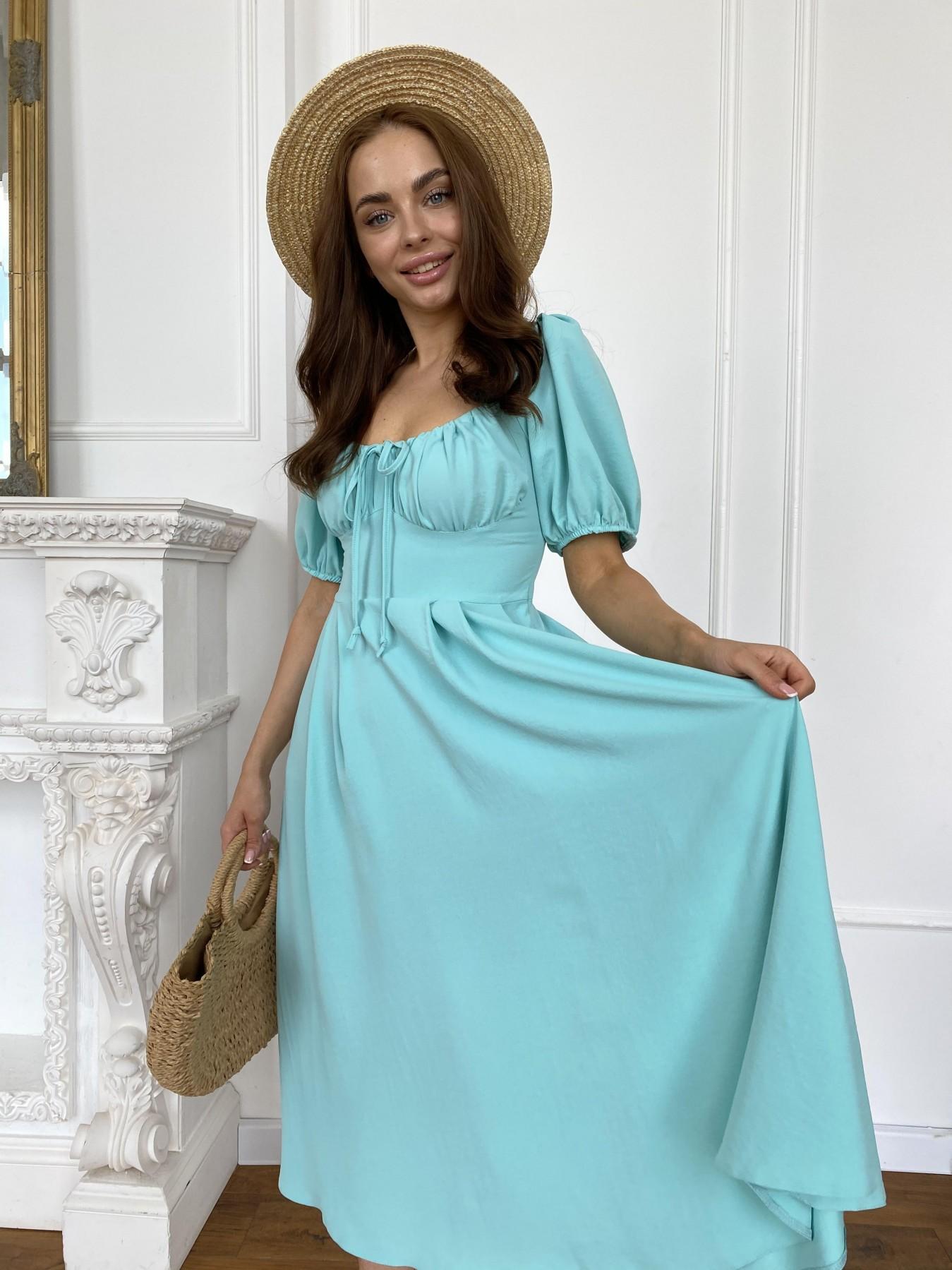 Платья от производителя Кисес Миди платье из крепа х/б стрейч 11577
