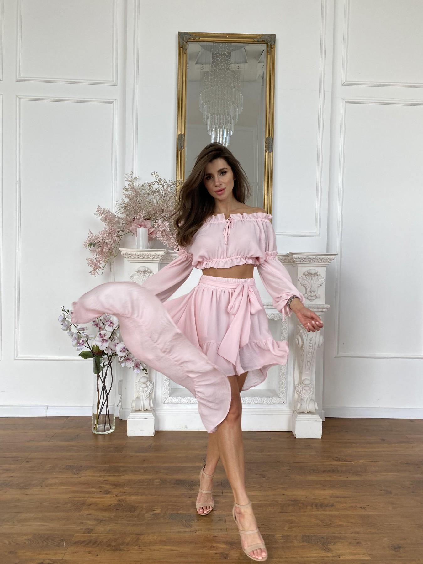 Купить платья оптом в Украине Шалер костюм из креп креш жоржет 11566