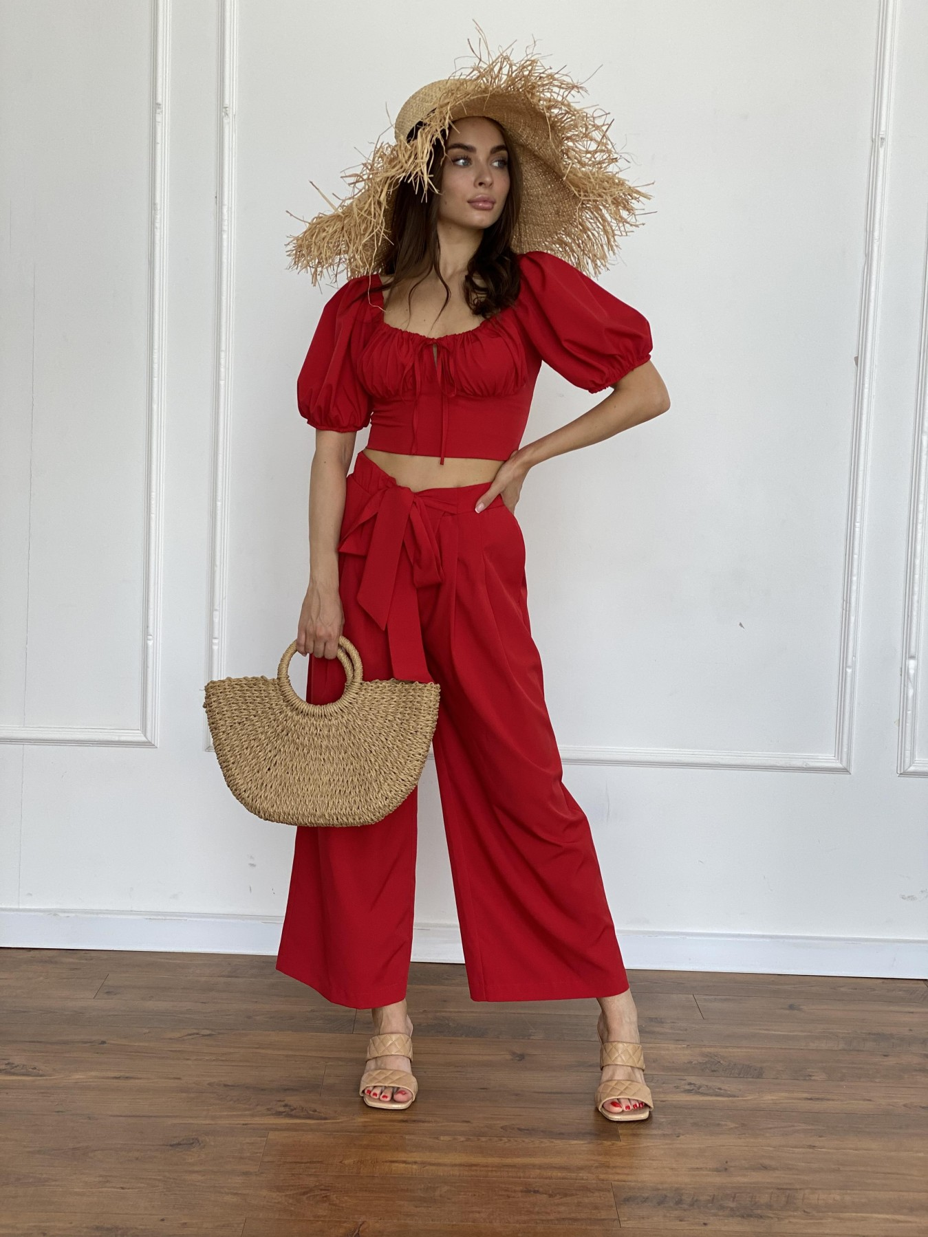 Лагуна 3 костюм из софта 11561 АРТ. 48231 Цвет: Красный - фото 4, интернет магазин tm-modus.ru