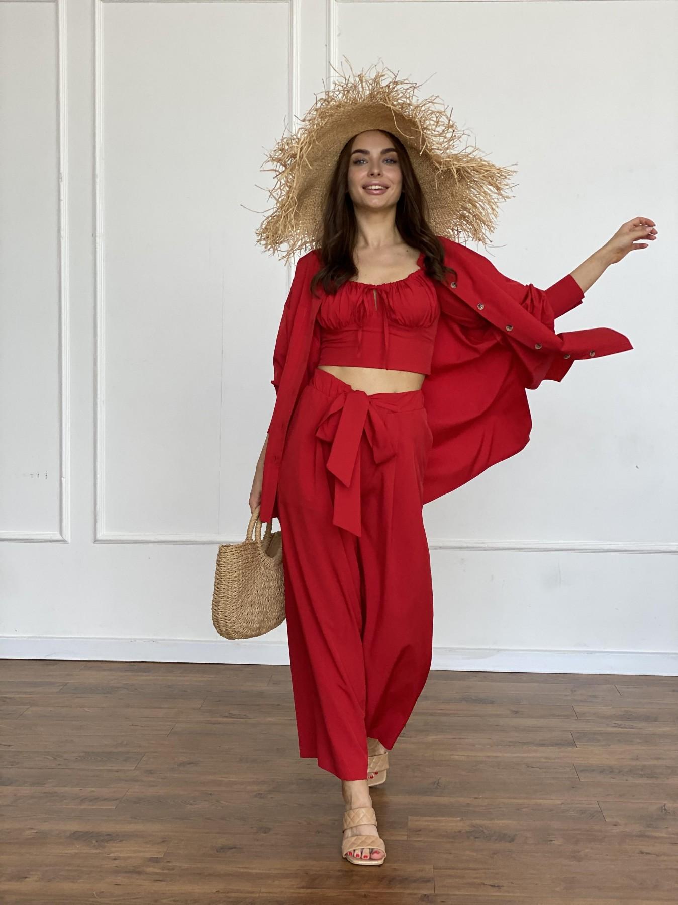 Лагуна 3 костюм из софта 11561 АРТ. 48231 Цвет: Красный - фото 7, интернет магазин tm-modus.ru