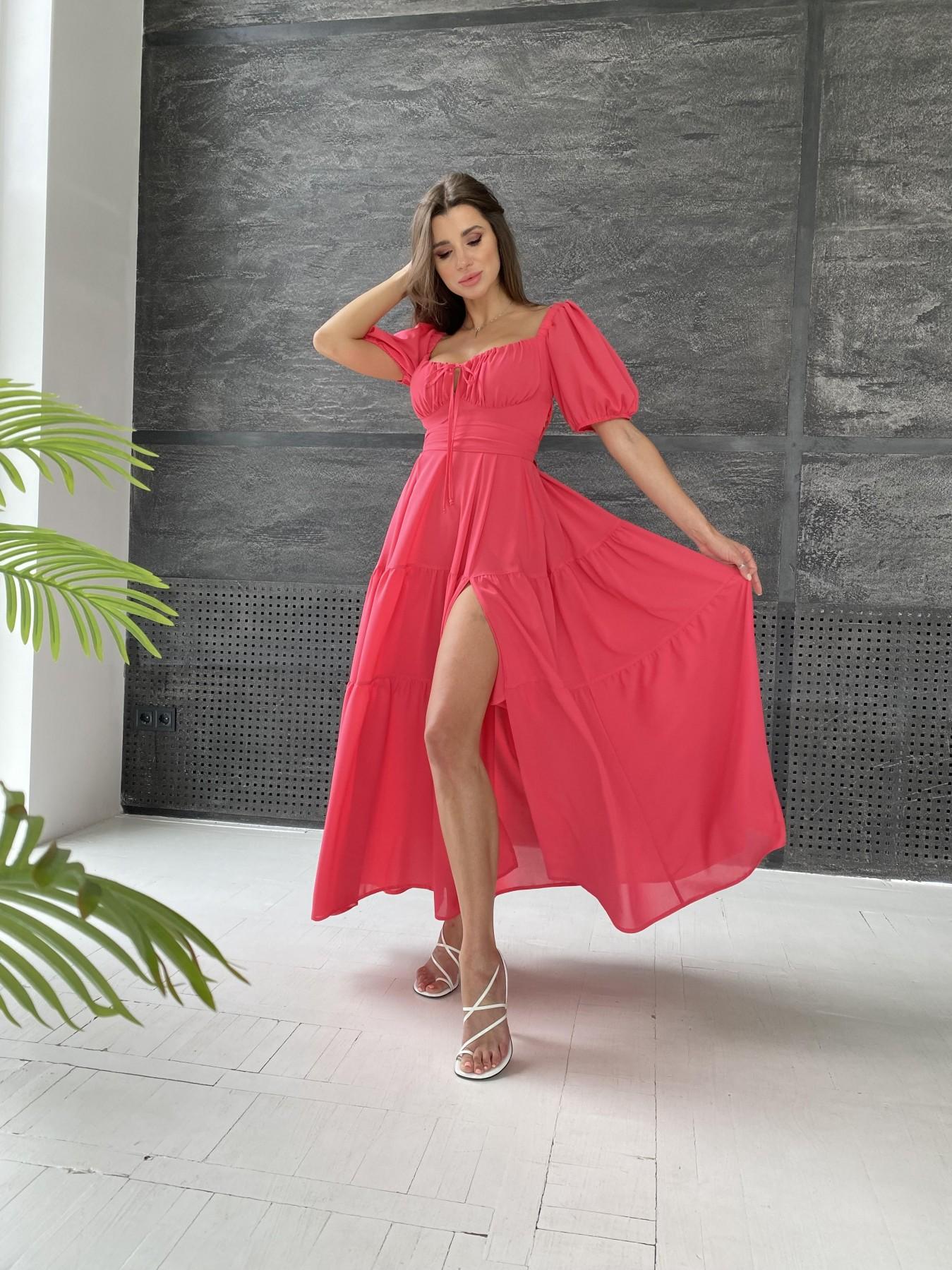 Купить платья оптом TM Modus Сейшелы платье креп шифон 11519