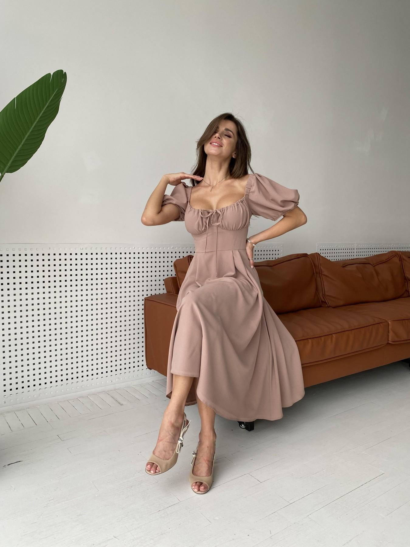 Платья Украина оптом от Модус Кисес Миди платье из шифона креп 11443