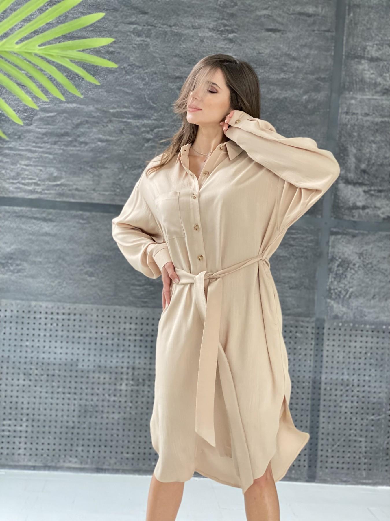Рубашка женская купить от Modus Сиэтл  рубашка миди лен вискоза не стрейч 11607