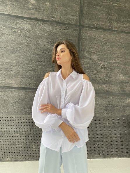 """Купить """"Адель"""" блуза из креп креш шифона 11657 оптом и в розницу"""