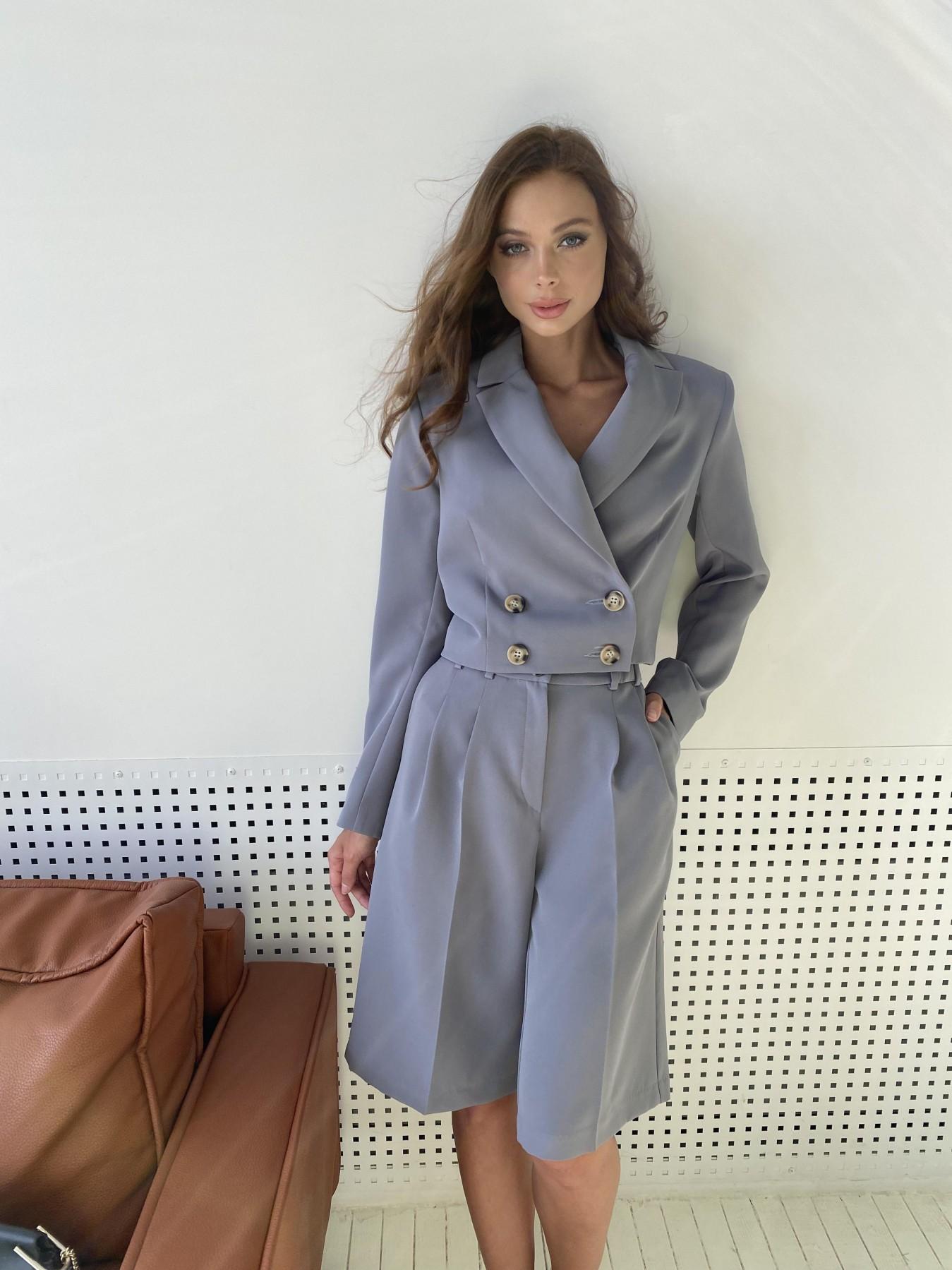 Купить женские костюмы оптом  Оксфорд костюм из костюмной ткани стрейч 11548