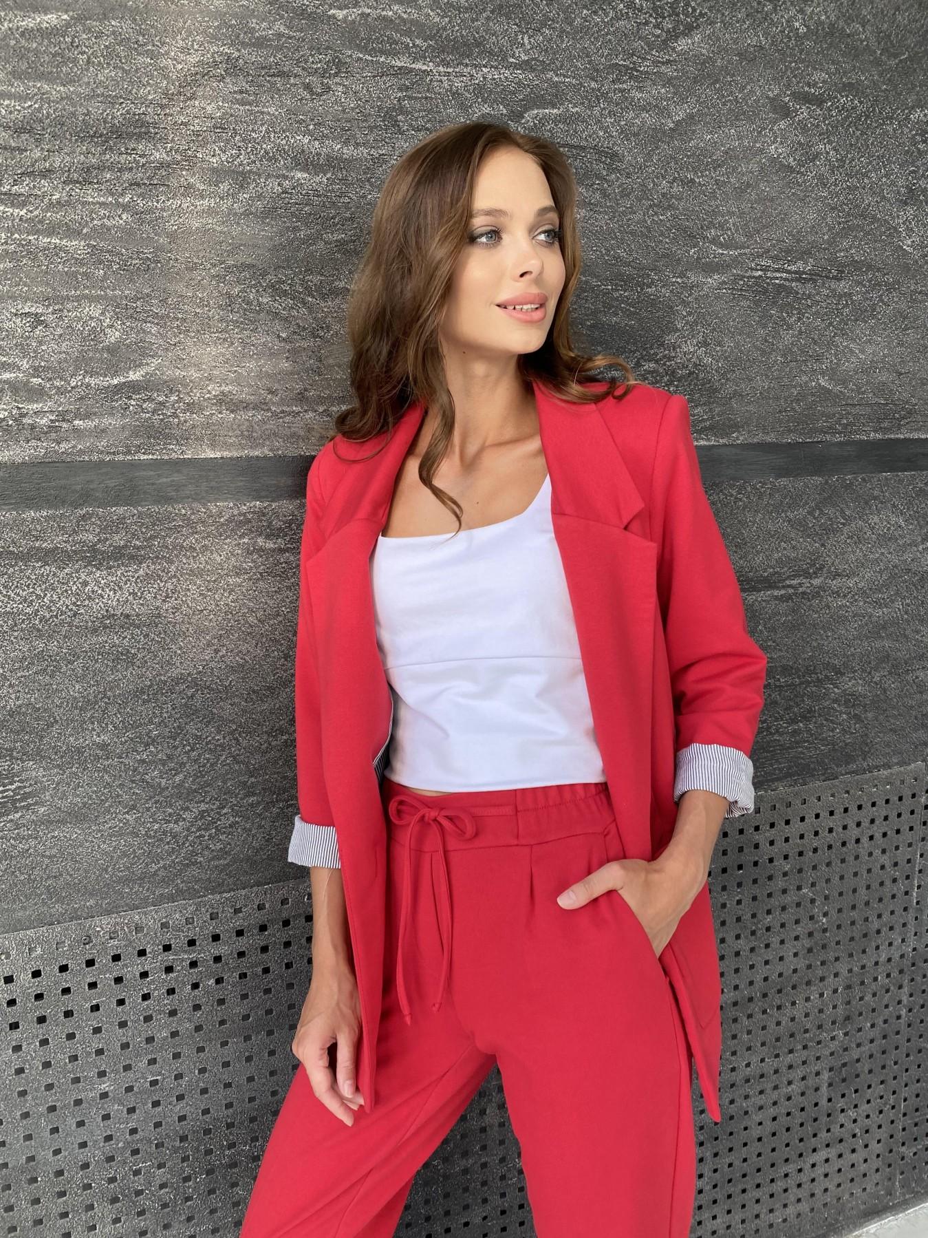 Империал костюм из  трикотажа двунитки 11572 АРТ. 48368 Цвет: Красный - фото 8, интернет магазин tm-modus.ru