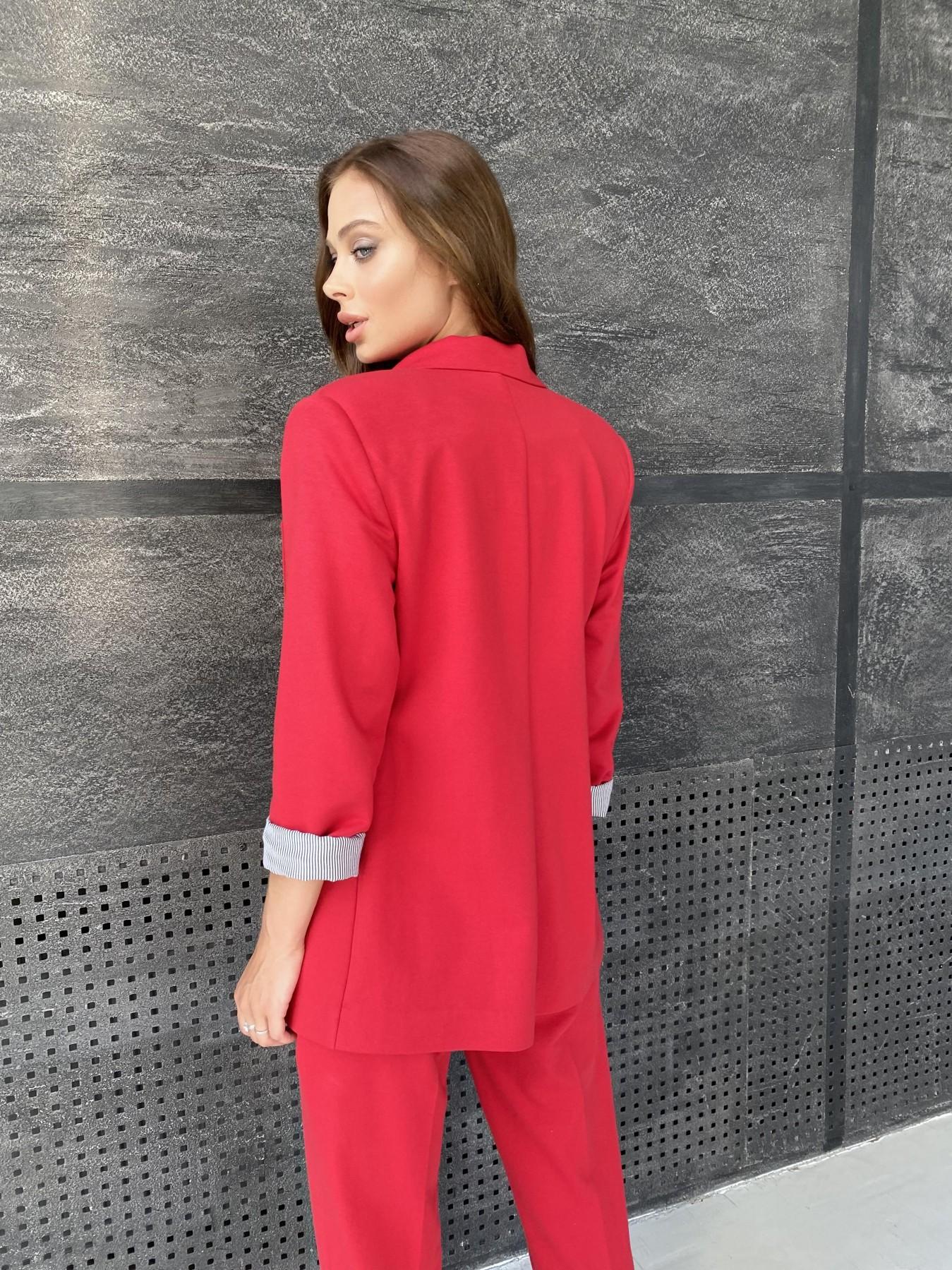 Империал костюм из  трикотажа двунитки 11572 АРТ. 48368 Цвет: Красный - фото 9, интернет магазин tm-modus.ru