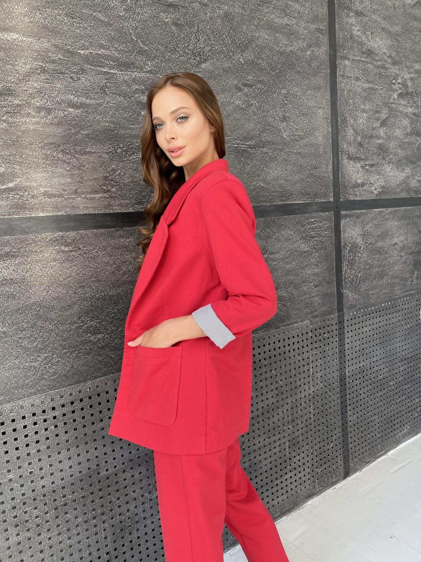 Империал костюм из  трикотажа двунитки 11572 АРТ. 48368 Цвет: Красный - фото 10, интернет магазин tm-modus.ru