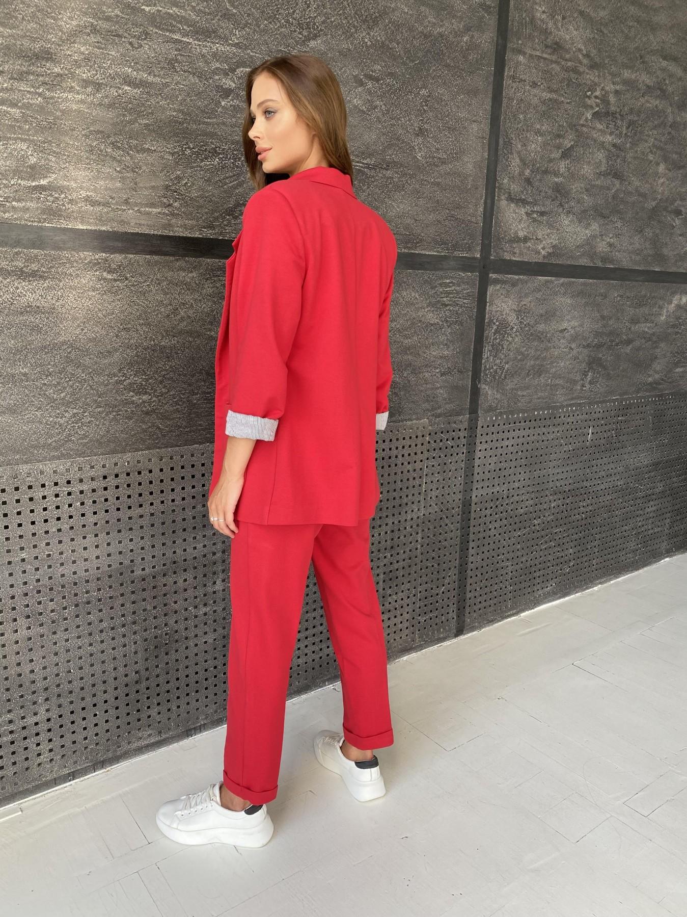 Империал костюм из  трикотажа двунитки 11572 АРТ. 48368 Цвет: Красный - фото 11, интернет магазин tm-modus.ru