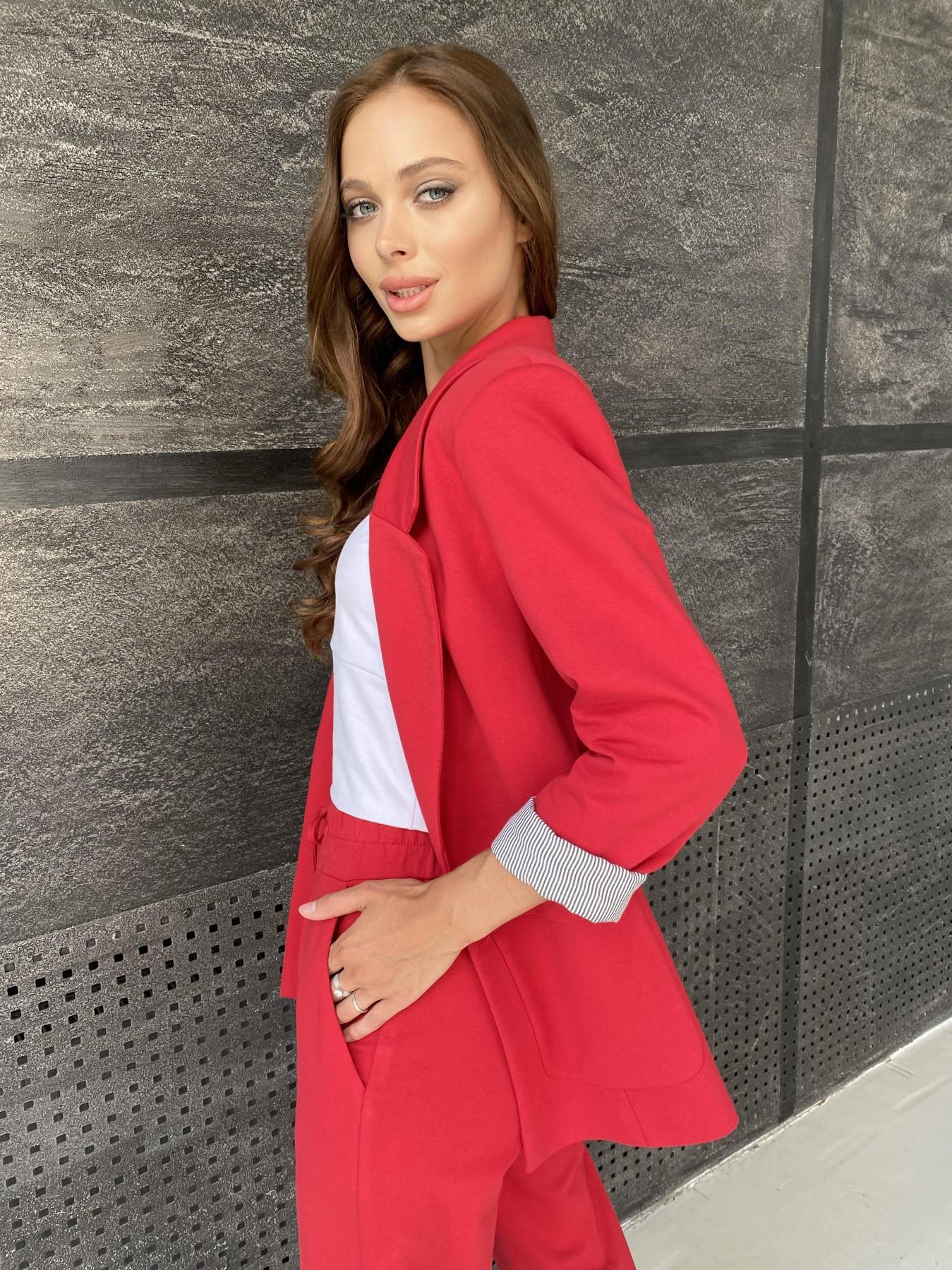 Империал костюм из  трикотажа двунитки 11572 АРТ. 48368 Цвет: Красный - фото 12, интернет магазин tm-modus.ru