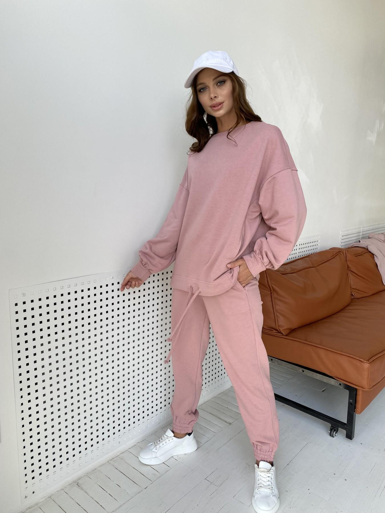 Фарт 2 костюм трикотаж трехнитка 11634 АРТ. 48344 Цвет: Пудра - фото 6, интернет магазин tm-modus.ru