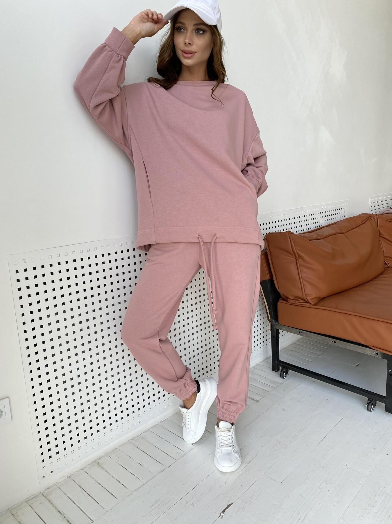 Фарт 2 костюм трикотаж трехнитка 11634 АРТ. 48344 Цвет: Пудра - фото 10, интернет магазин tm-modus.ru