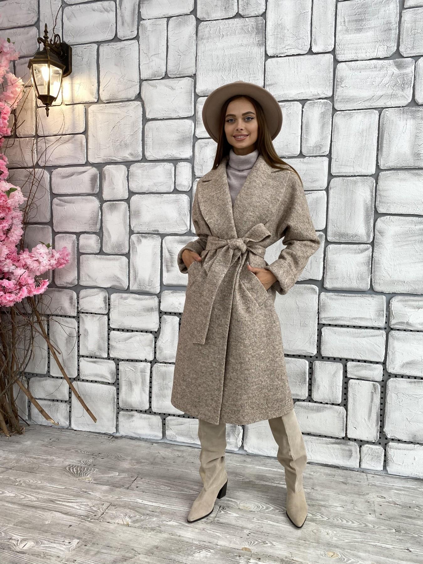 Женское пальто оптом TM Modus Влада шерсть варенка ткань пальто 11639