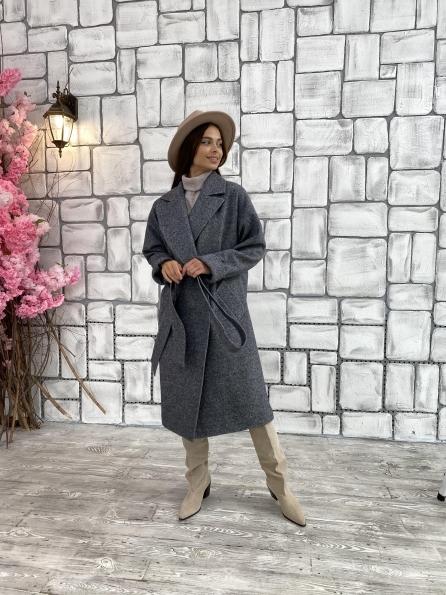 """Купить """"Влада"""" шерсть варенка ткань пальто 11639 оптом и в розницу"""