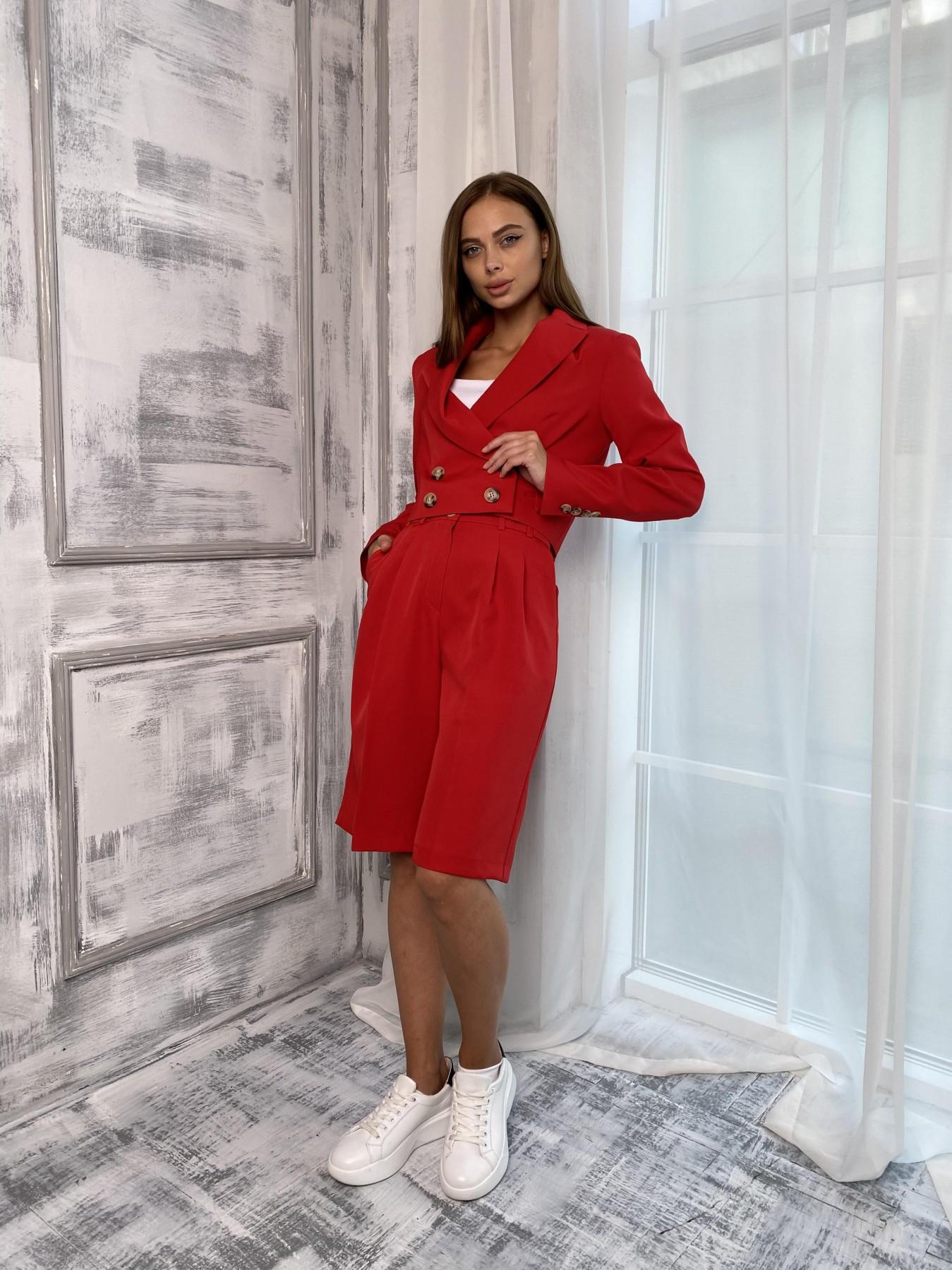 Женская одежда оптом от производителя Оксфорд костюм из костюмной ткани стрейч 11548