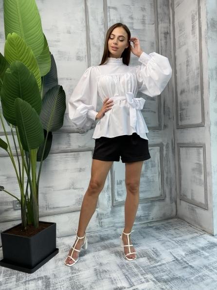 """Купить """"Аметист"""" Д/р софт однотонный блуза 11693 оптом и в розницу"""